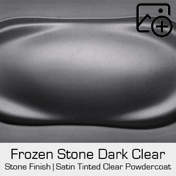 HRE Stone Finish Frozen Stone Dark Clear