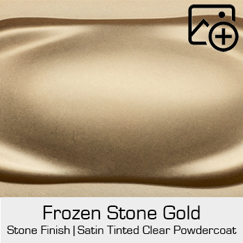 HRE Stone Finish Frozen Stone Gold