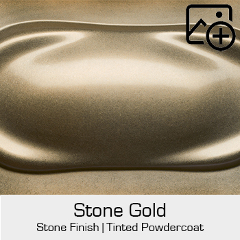 HRE Stone Finish Stone Gold