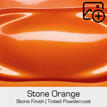 HRE Stone Finish Stone Orange