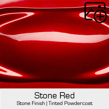 HRE Stone Finish Stone Red