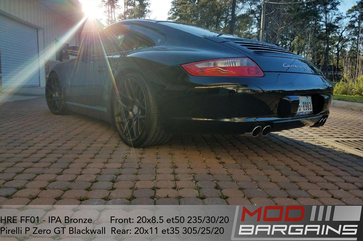 HRE FF01 IPA Bronze on Porsche 997