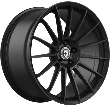 HRE Flow Form FF15 Tarmac Black Wheels