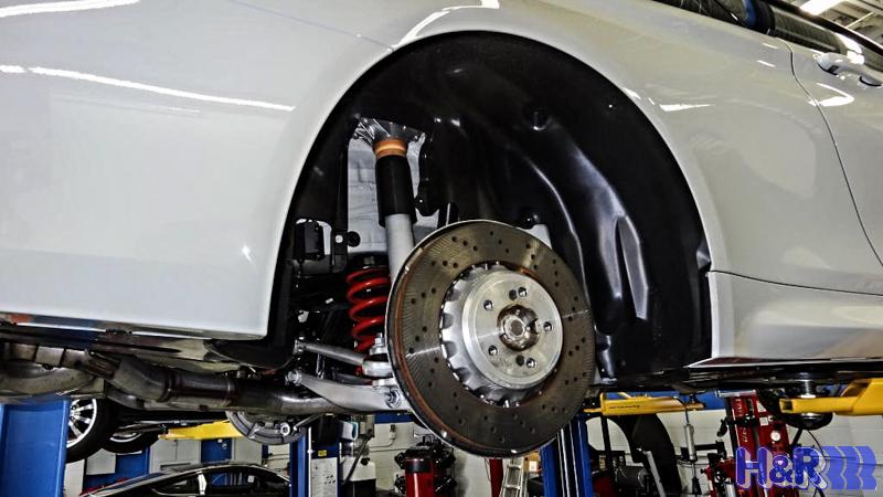 H&R Sport Springs Installed on BMW M4