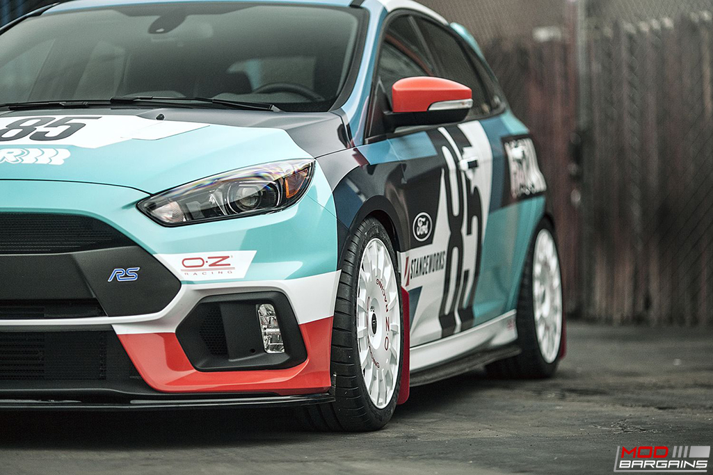 H&R Susupension on Ford Focus RS (3)