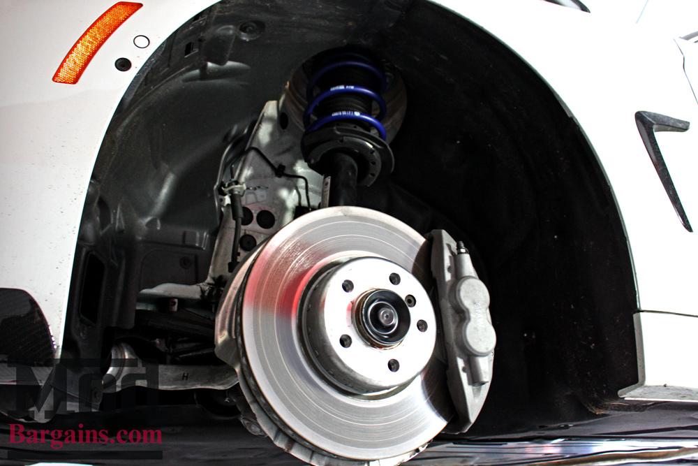 H&R Sport Springs Installed on F33 BMW 435i at ModBargains shop ModAuto