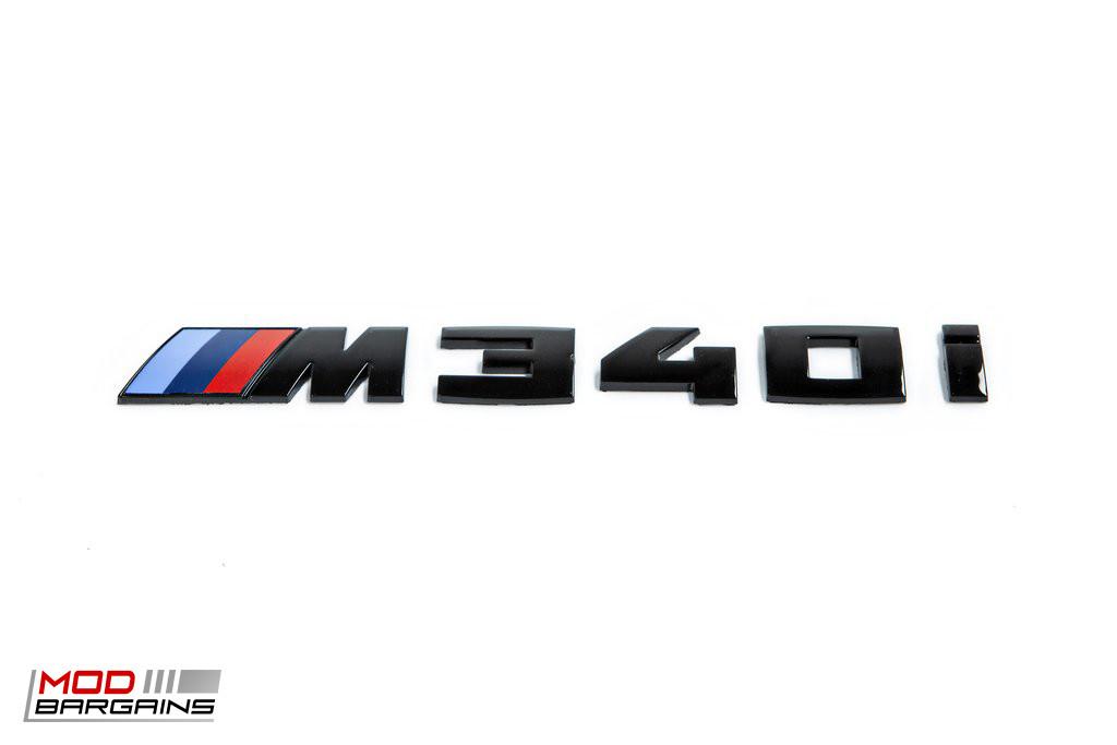 Black Trunk Emblem For 2019 Bmw G20 M340i Ind G20 Tb