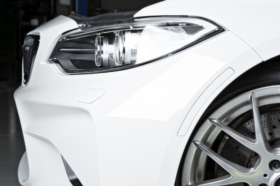 Painted Front Reflector for 2016 BMW M2 F87