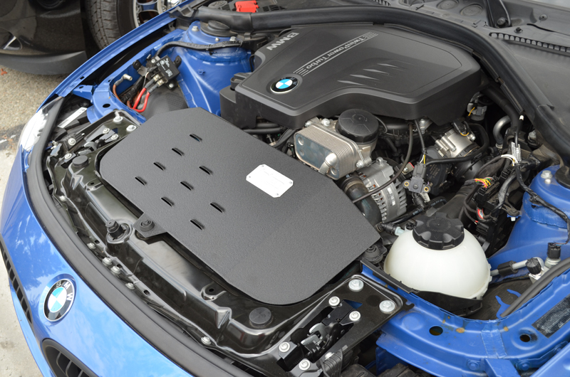 Injen Air Intake BMW F30 328i N20/N26 Installed
