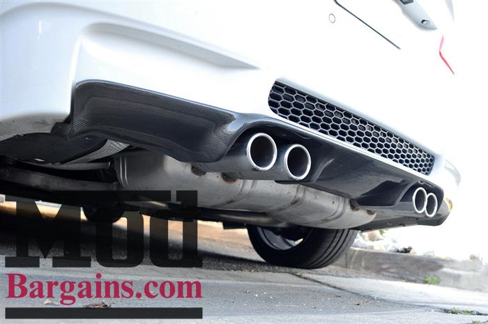 Carbon Fiber M3 Rear Diffuser for 2008-12 BMW M3 [E92/E93] 3D Style