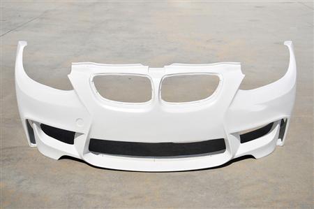 BMW E92/E93 1M Style Front Bumper Top Front View