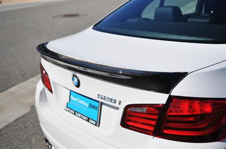 JL Motoring BMW F10 5 Series ACS Style Carbon Fiber Trunk Spoiler