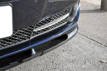 BMW F10 5 Series Hamann Style Carbon Fiber Front Spoiler Close Up