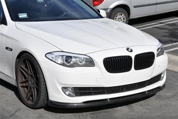 BMW F10 5 Series Hamann Style Carbon Fiber Front Spoiler