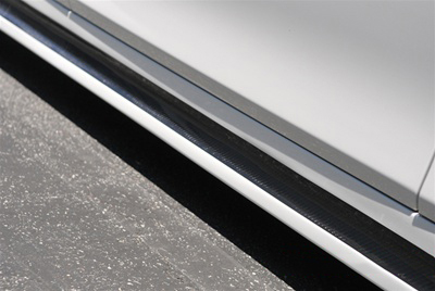 BMW F10 5 Series Hamann Style Side Skirts Close Up