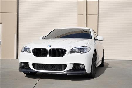 BMW F10 5 Series M Tech Carbon Fiber Front Spoiler