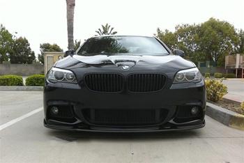 BMW F10 5 Series M Tech Hamann Style CF Front Spoiler