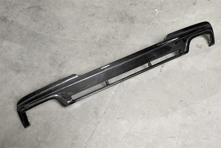 BMW F10 5 Series M Tech Hamann Style CF Rear Diffuser Off Car