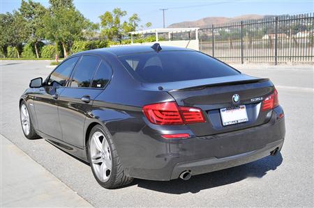 BMW F10 5 Series Performance Style Carbon Fiber Trunk Spoiler