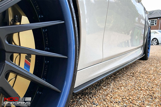 BMW f10 m5 m sport side skirts, uv Protetcted, 4 pieces, JL Motoring, Modbargains.com