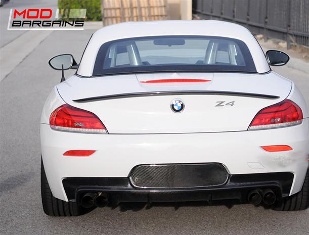 Carbon Fiber M Sport Rear Diffuser for 2010+ BMW Z4 E89