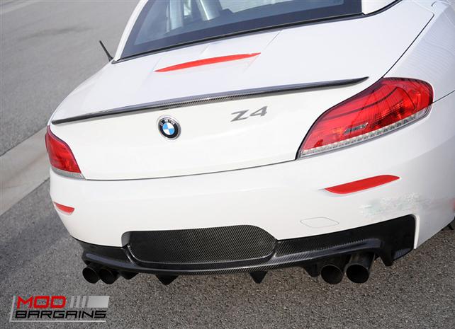 Carbon Fiber Rear Diffuser for 2010+ BMW Z4 E89