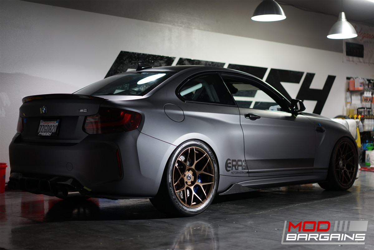 Carbon Fiber Side Skirts BMW M2 F87 JL Motoring Extensions