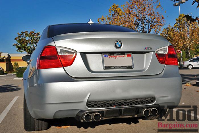 Carbon Fiber M3 Rear Diffuser for 2008-12 BMW M3 Sedan [E90] Type II Style