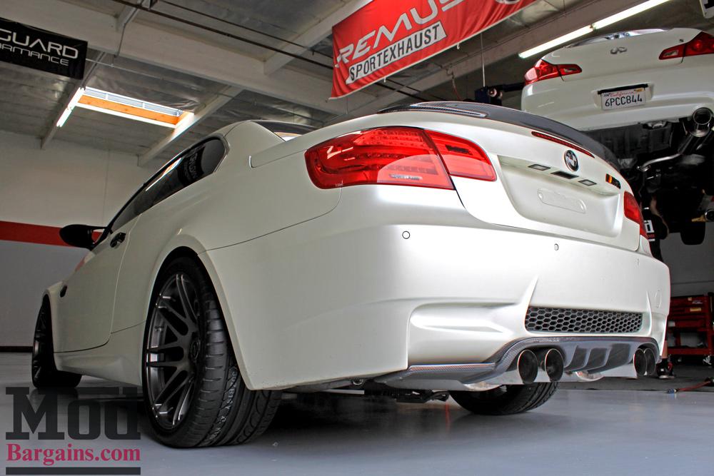 Carbon Fiber Trunk Spoiler for 2007-13 BMW 3-Series & M3 Vert [E93]