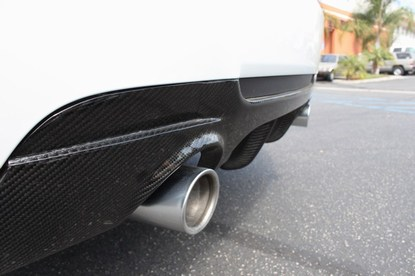 Carbon Fiber Performance Style Rear Diffuser for 2007-12 BMW 328i/335i E92 Coupe Full CF 001