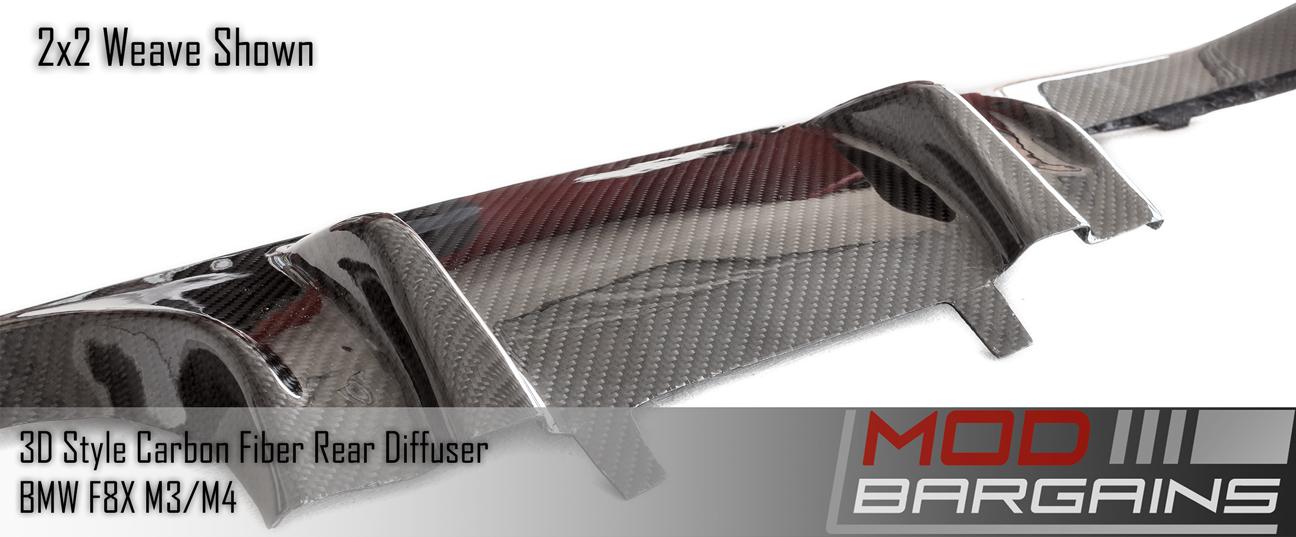 Carbon Fiber 3D Rear Diffuser BMDI8X05