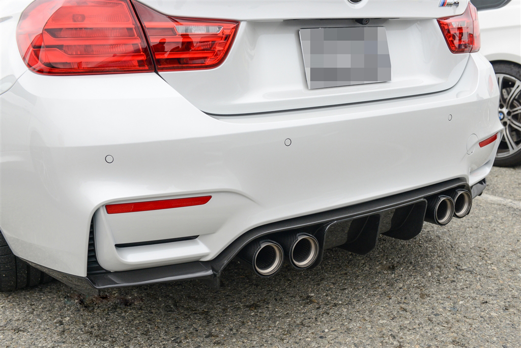 Carbon Fiber V3 Rear Diffuser for BMW M3/M4 [F80/F82/F83]