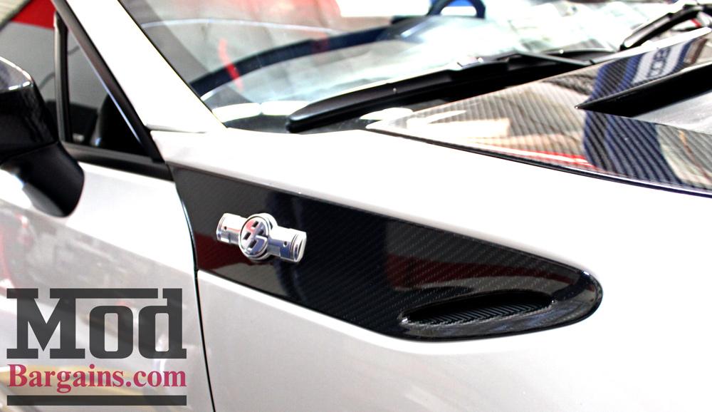 Carbon Fiber Fender Trim Panels for 2012-14 Scion FR-S Subaru BRZ [ZN6/ZC6] Installed at ModBargains.com 6