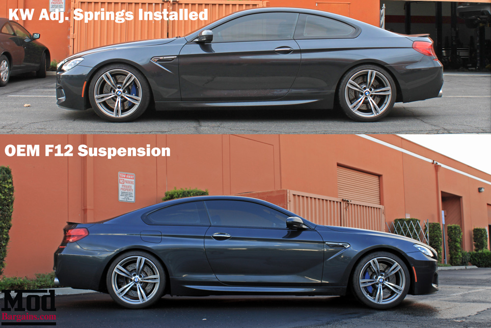 KW 2532000W Height Adjustable Spring System for BMW M6