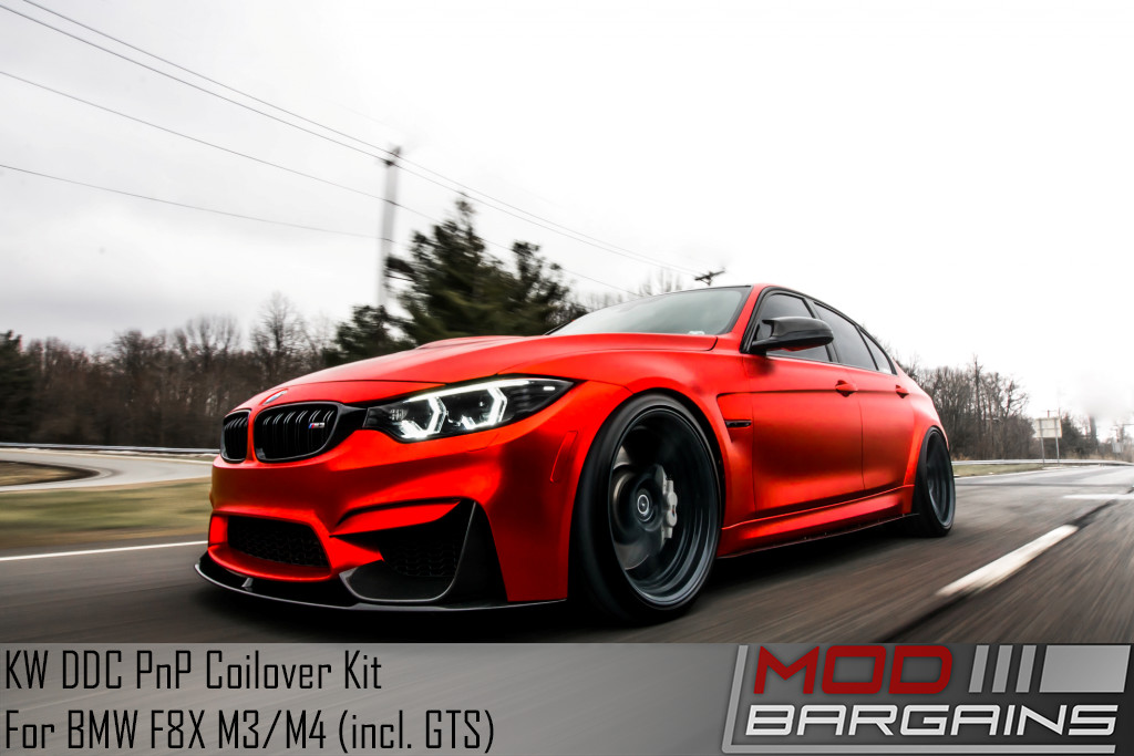 BMW 2015-2018 F80 M3 KW DDC Plug & Play Coilovers EDC Adaptive Suspension