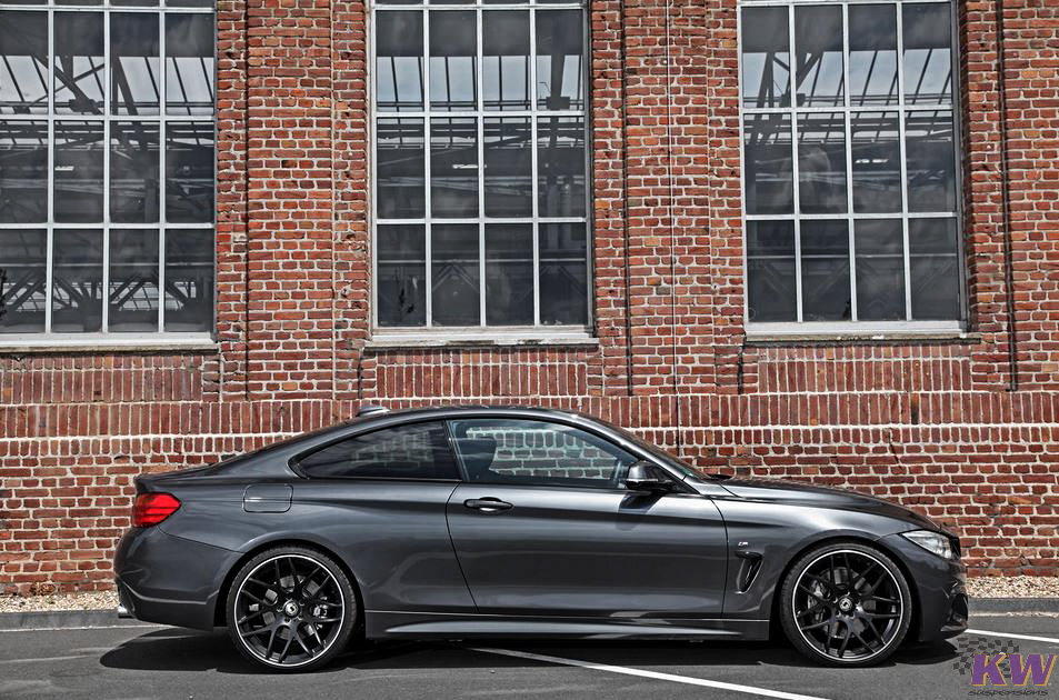 KW Coilovers Installed on BMW 435i F32