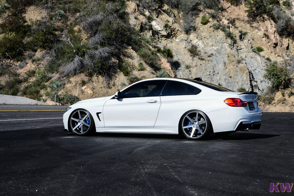 KW Coilovers Insatled on BMW 435i F32 (2)