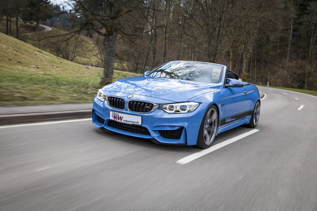 BMW F83 M4 Convertible Vert Coilovers KW V4 Variant