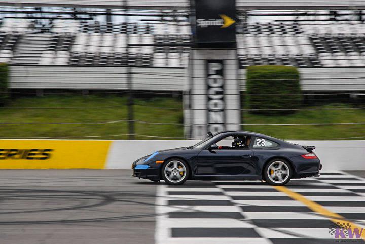 KW V3 Coilovers Installed on Porsche 911 996