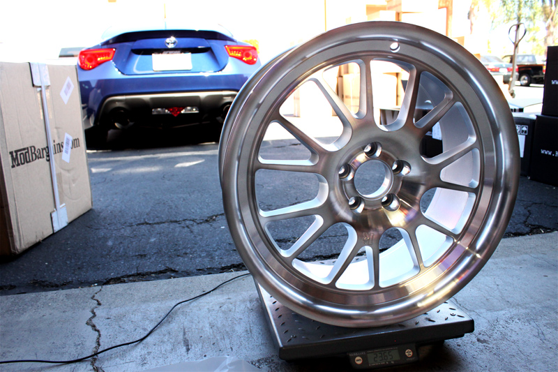 Klutch Wheels SL14 Silver Machined 23.65lbs