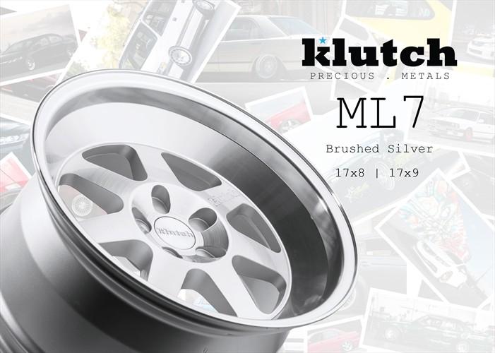klutch ml7 silver