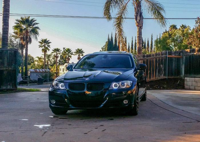 LUX H8 V5 Color Adjustable Angel Eyes for BMW