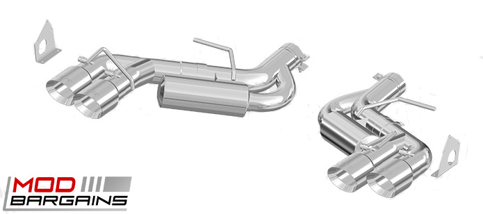 MBRP 3 Axel-back Exhaust for 2012-2016 Chevrolet Camaro (S7036}