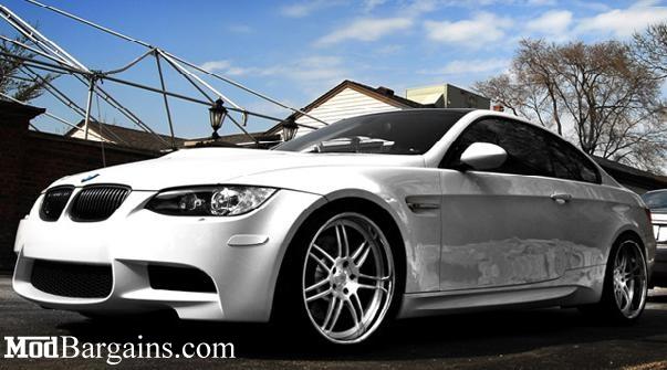 E92 BMW Front Reflectors Alpine White