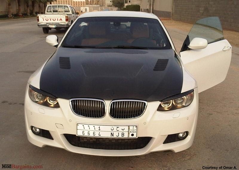BMW E92 Carbon Fiber Vented Hood