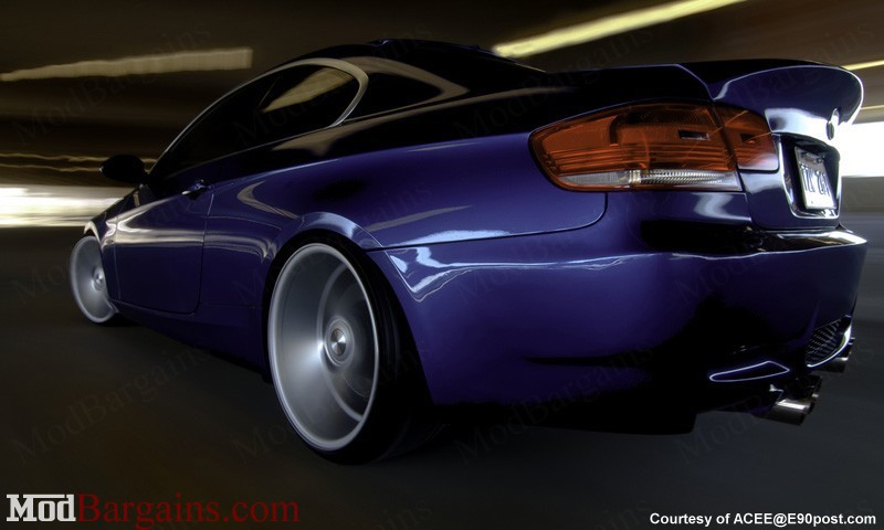 CSL-Style Trunk/Bootlid in FRP (2)