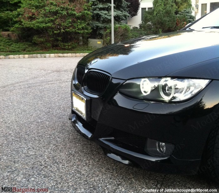 bmw e92 e93 gloss black kidney grilles