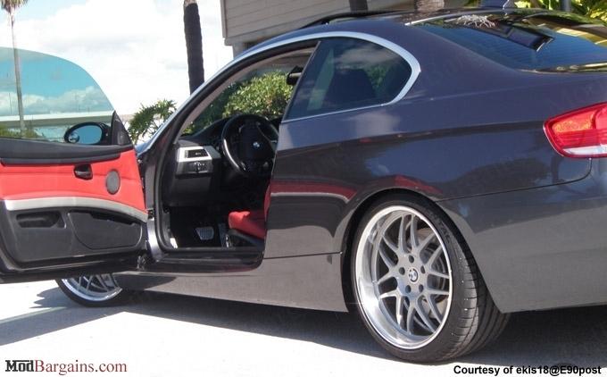 KW V1 Coilovers for BMW E92 E90 at ModBargains.com
