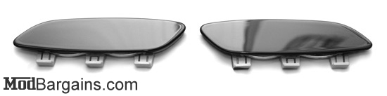 Painted Front Reflector Jet Black
