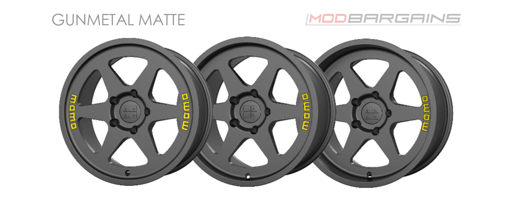Momo Heritage 6 Wheel Color Options Gunmetal Matte Modbargains